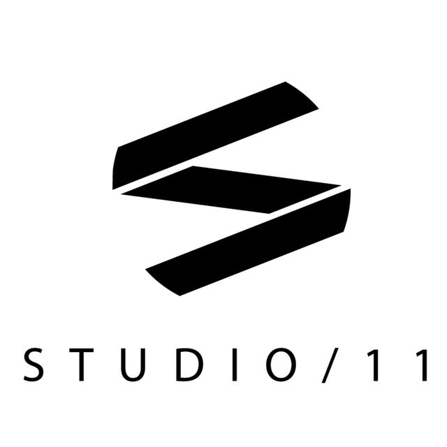 Studio 11 final logo logo black cut